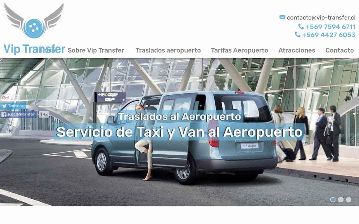 Van y taxis Traslado aeropuerto Santiago