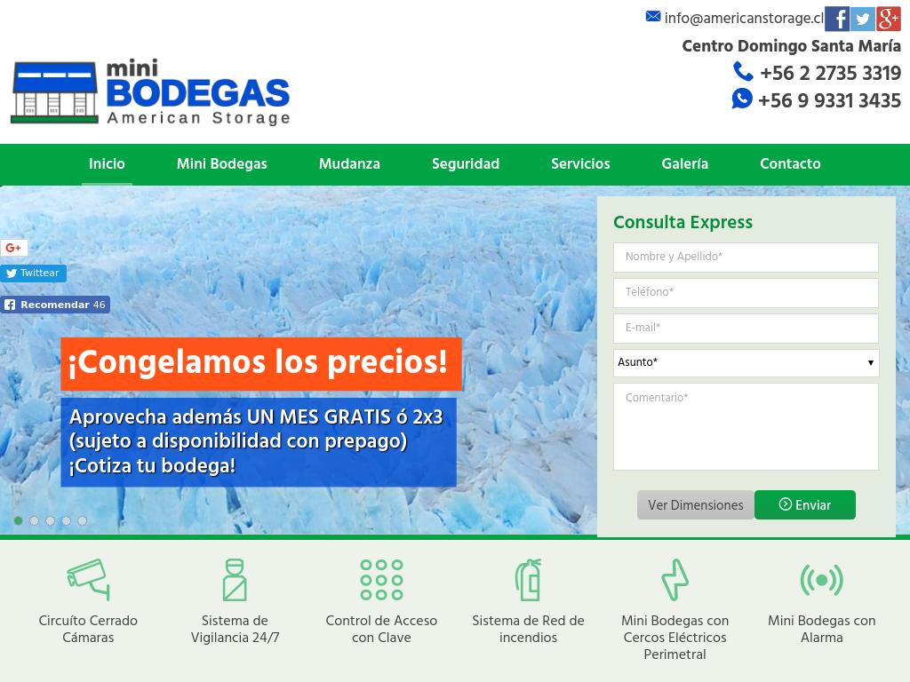 Bodegas en Chile