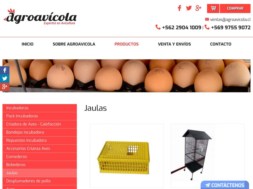 Incubadoras de huevo