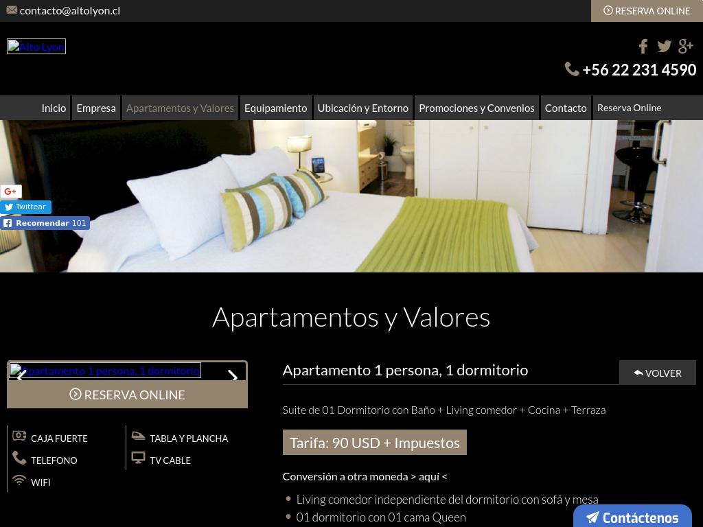 Apart Hotel en Concepción