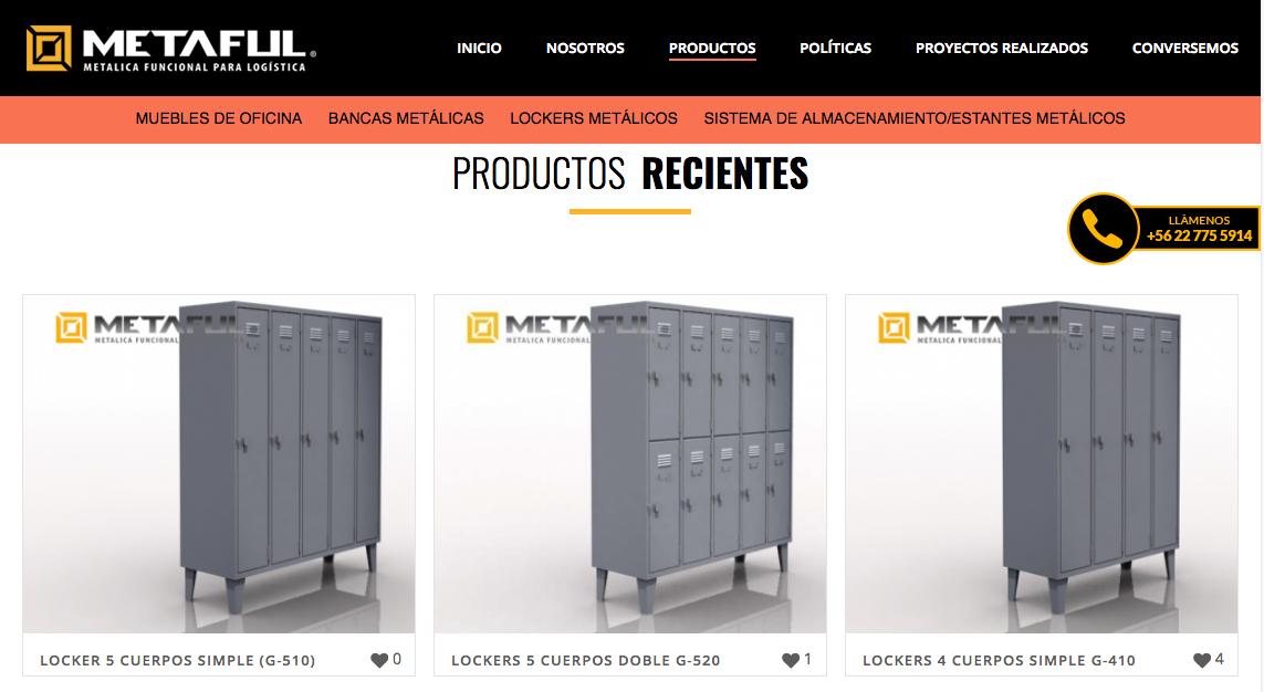 Lockers en la Region Metropolitana