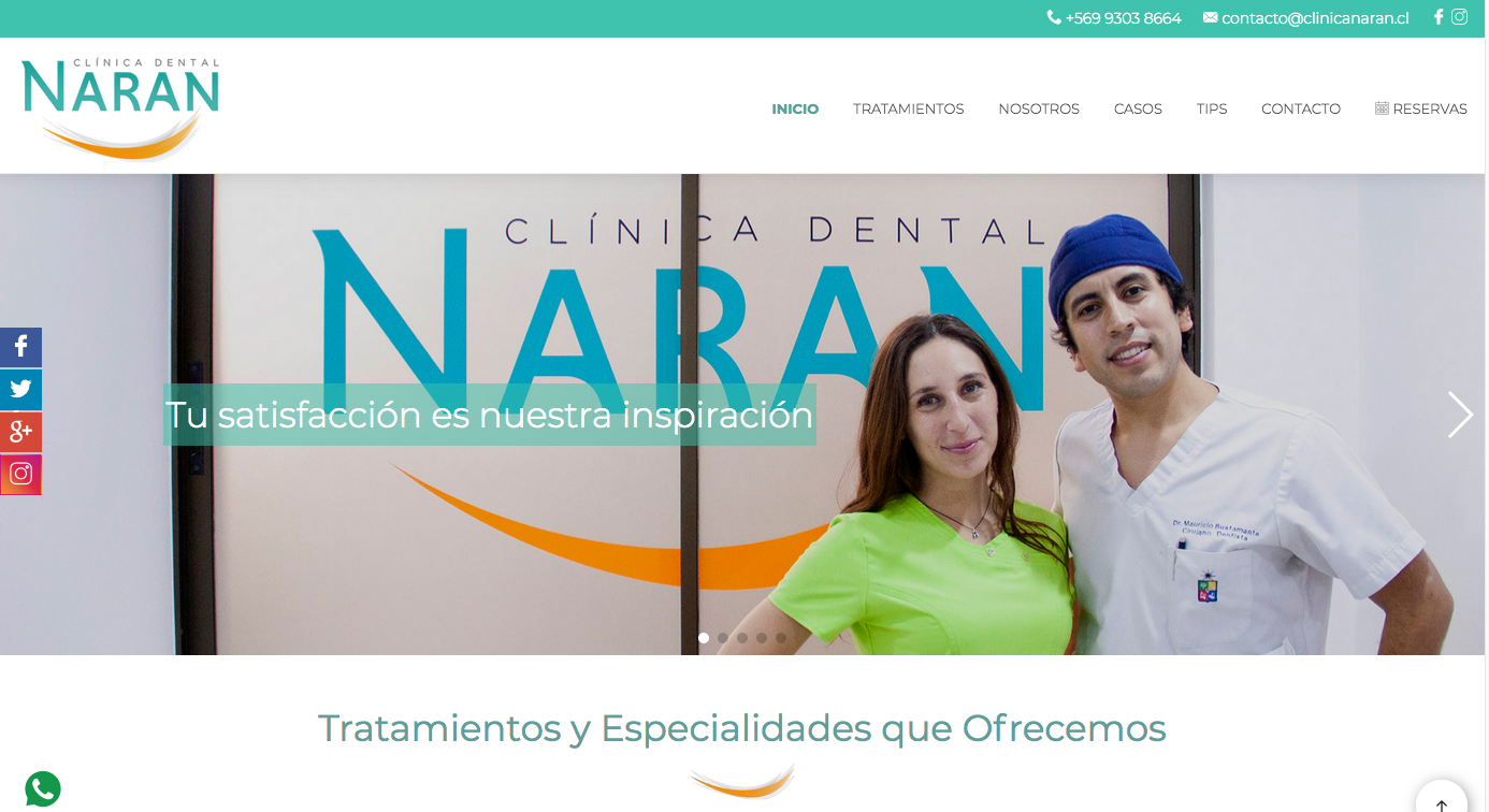 expertos en Implantes dentales