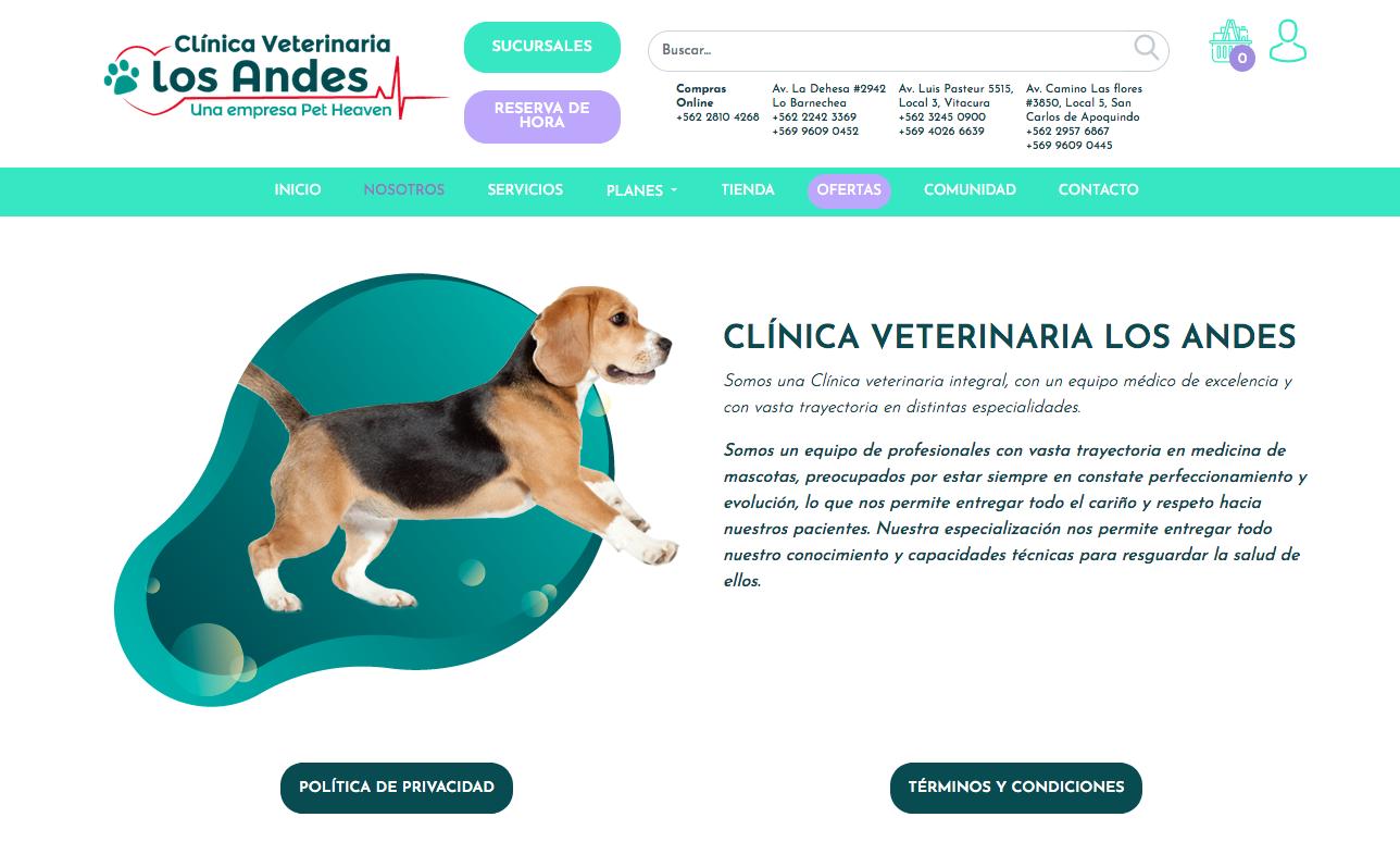 Farmacia para mascotas en la RM