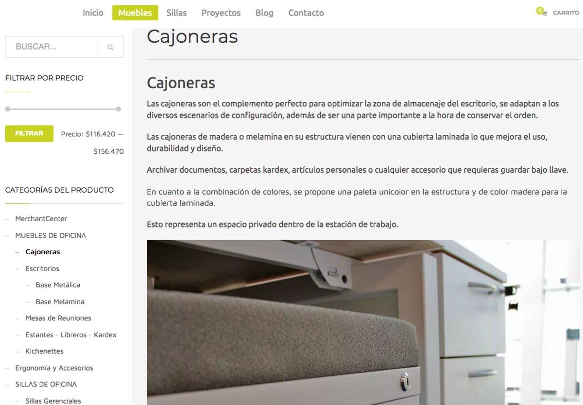 muebles para oficinas en chile