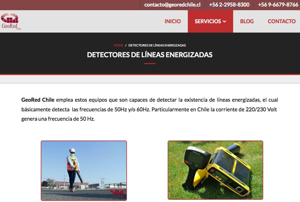 Prospección con detectores en chile
