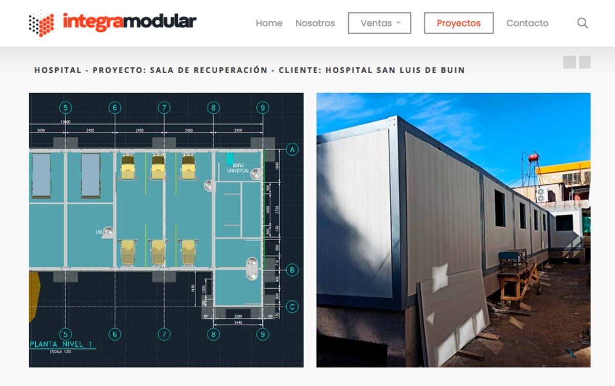 Pabellones mineros modulares